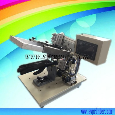 Small screen pirnter for gloves