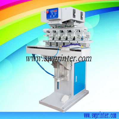 YICAI-P6S 6 color pad printing machine