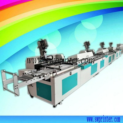 YC304A 4 color lanyard label screen printing machine