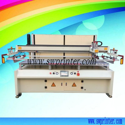 Plywood wooden board printing machine screen printer